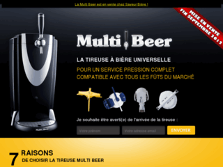 multi beer la tireuse bi re universelle multi. Black Bedroom Furniture Sets. Home Design Ideas