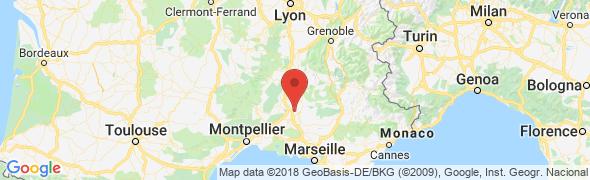 adresse gitelavalentine.com, Bédarrides, France