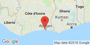 adresse et contact Cowebs Hebergement, Abidjan, Côte d'Ivoire