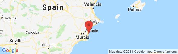 adresse rentalsholidays.com, Alicante, Espagne