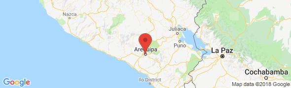 adresse paprikatours.com, Arequipa, Pérou