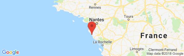 adresse cote-et-vintage.fr, Saint-Gilles-Croix-de-Vie, France