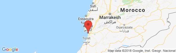 adresse najah-cars.com, Agadir, Maroc