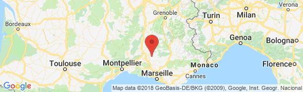 adresse petit-paradis-provence.com, Venasque, France