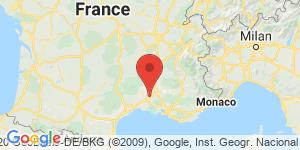 adresse et contact Laurent Maameri, artiste peintre, Lédenon, France