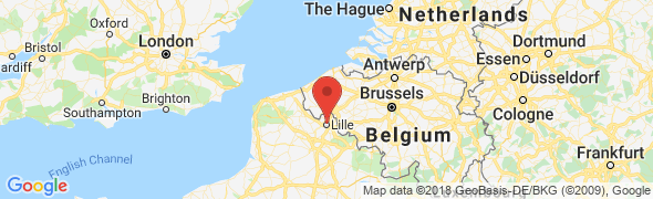 adresse osteopathe-daubricourt.com, Lille, France