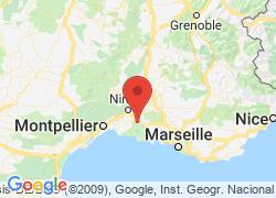 adresse aubergedesplaines.com, Arles, France