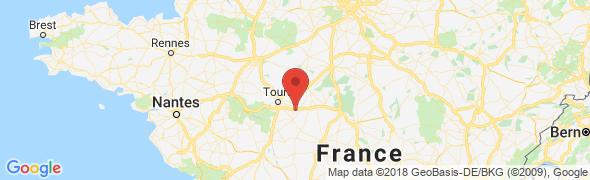 adresse loca-chauff.fr, Luzillé, France
