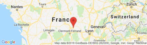 adresse nice-flore.fr, Vichy, France