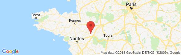 adresse ma-signaletique.com, Écuillé, France
