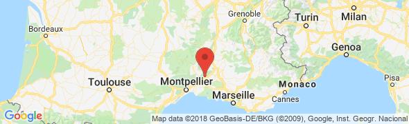 adresse hotel-lauriersroses.com, Cabrières, France