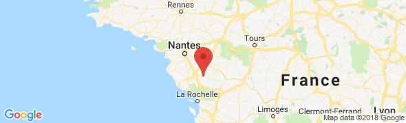 adresse restaurantlamorliere.com, Sigournais, France
