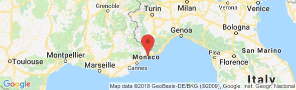 adresse azurserviceinfo.com, Menton, France