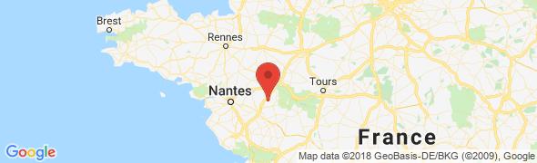 adresse godet-tp.fr, Valanjou, France