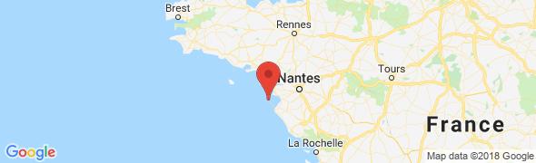 adresse bordabord.fr, Noirmoutier, France