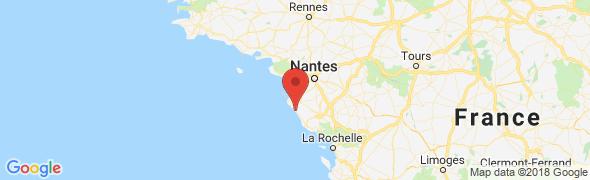 adresse bleumarineimmobilier.com, St Hilaire de Riez, France