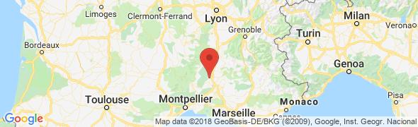 adresse relais-fourachaux.com, Pont Saint Esprit, France