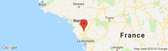 adresse sabe.fr, Chauché, France