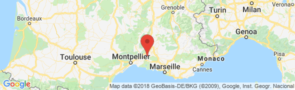adresse cklocreception.com, Beaucaire, France