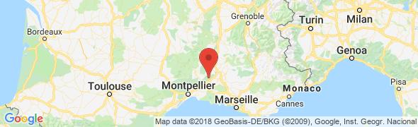 adresse hotel-begude-saint-pierre.com, Vers Pont du Gard, France