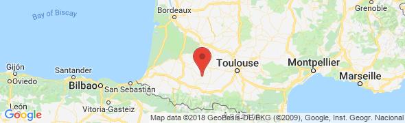 adresse leclosdesmousquetaires.com, Laas, France