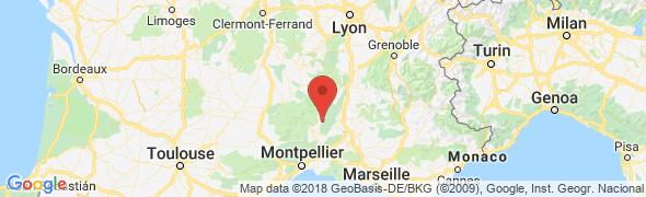adresse legarrus.com, Saint Remèze, France