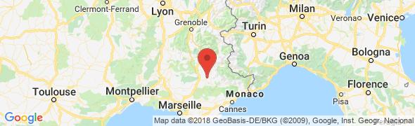adresse alpesrandotrek.com, Digne les Bains, France