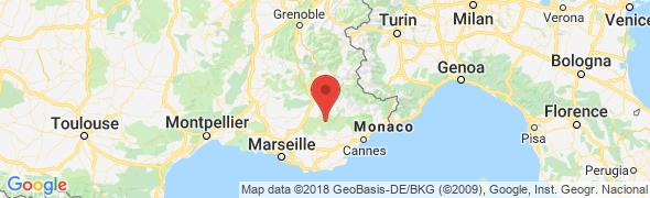 adresse verdoncanoe.com, Les Salles Sur Verdon, France
