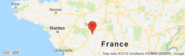 adresse gites-et-touraine.fr, Varennes, France