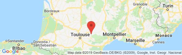 adresse chateauderonel.fr, Roumégoux, France