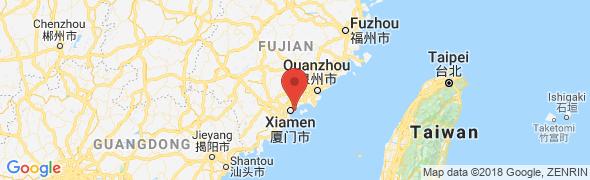 adresse thecalin.com, Xiamen, Chine