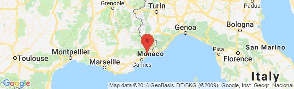 adresse osteopathe-prucca-nice.com, Nice, France