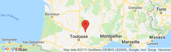 adresse lesventsbleus.com, Donnazac, France
