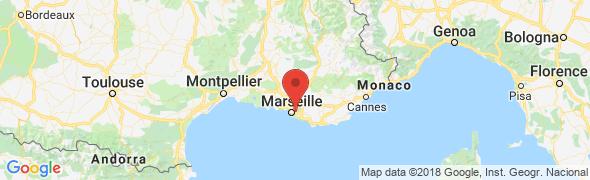 adresse netclim.fr, Marseille, France