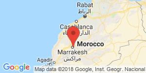 adresse et contact Villa Riad Bleu-Zriga, Marrakech, Maroc