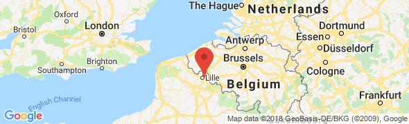 adresse podologue-delabre.fr, Mons-en-Barœul, France