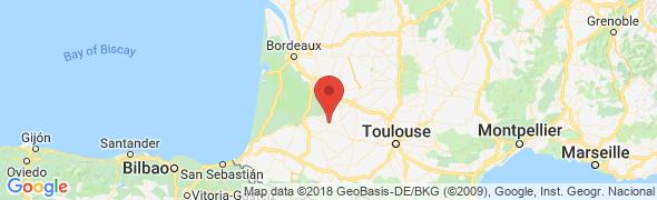 adresse location-vacances-gers.fr, Eauze d'Armagnac, France