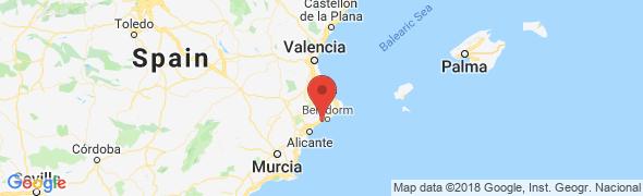 adresse location-lamaisondubonheur.com, Villajoyosa, Espagne