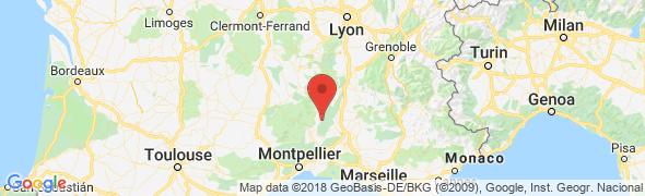 adresse camping-closdescapitelles.fr, St Privat de Champclos, France