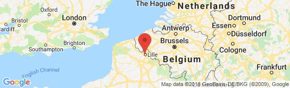 adresse studio-hotel-lille.com, Lille, France