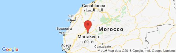 adresse riadoriente.com, Medina - Marrakech, Maroc