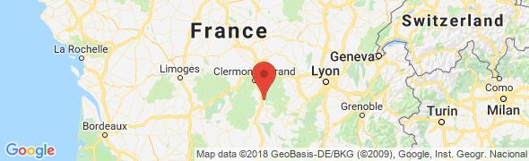 adresse dancing-auvergnat.com, Auzat la Combelle, France