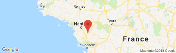 adresse betoncire-pineau.fr, La Gaubretière, France