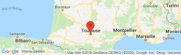 adresse osteopathe-jarry.fr, Toulouse, France