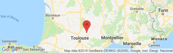adresse decomine.fr, Cordres sur Ciel, France