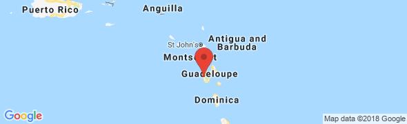 adresse larandeau.com, Bouillante, Guadeloupe