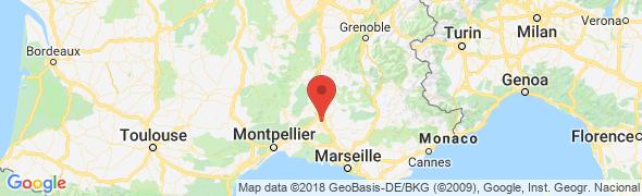 adresse masdecapelou.com, Avignon, France