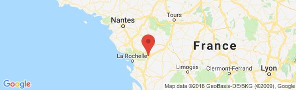 adresse la-lune-bleue.com, Niort, France