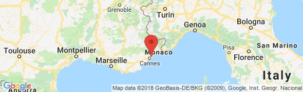 adresse capte-riviera.com, Antibes, France