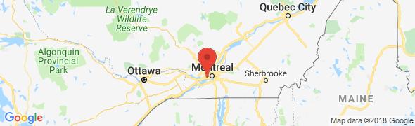 adresse planetecourrier.com, Dorval, Canada